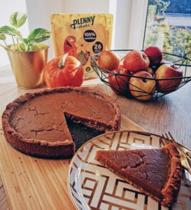Holly's veganer Pumpkin Pie
