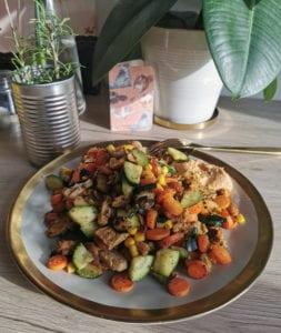 Rezept Gemüsepfanne vegan